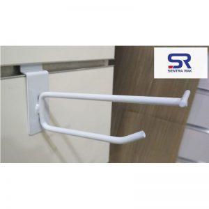 Jual Gantungan/Hook dobel Slatwall Panel