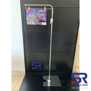Stand Promosi Toko aluminium
